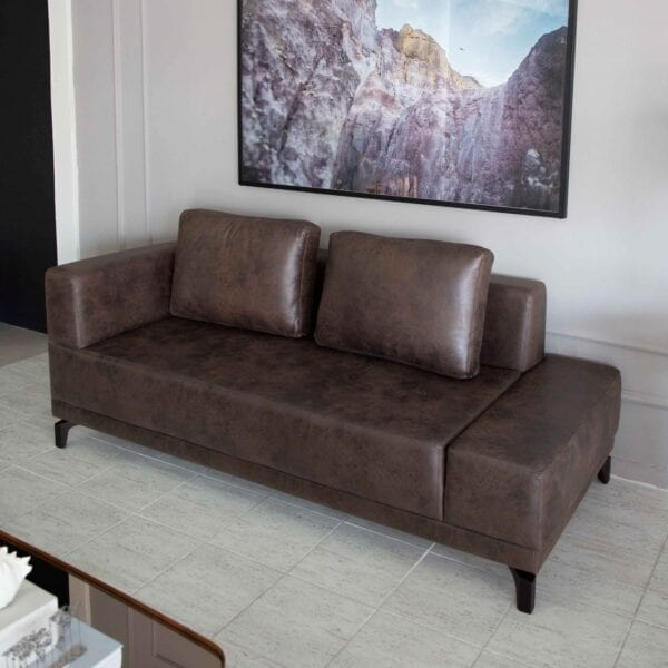 Sofá MLA Lounge Couro - Sofás Artcasa